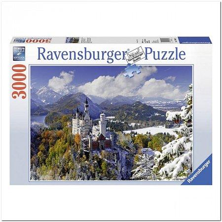 Пазл Ravensburger Нойшванштайн зимой, 3000 элементов (RSV-170623)