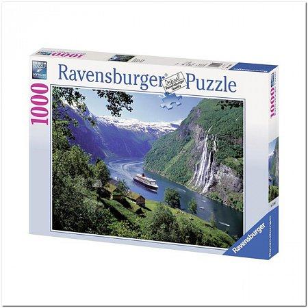 Пазл Ravensburger Норвежский фьорд, 1000 элементов (RSV-158041)