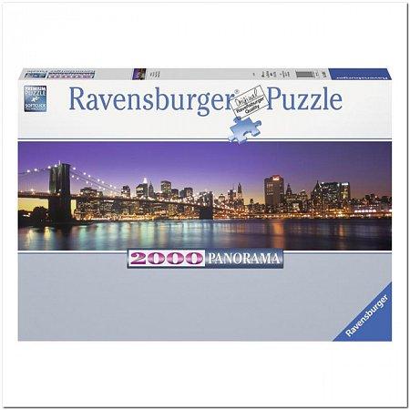 Пазл Ravensburger Нью-Йорк, 2000 элементов. Панорамный (RSV-166947)