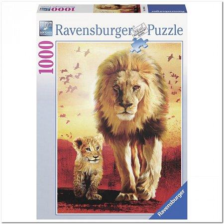 Пазл Ravensburger Первые шаги, 1000 элементов (RSV-190515)