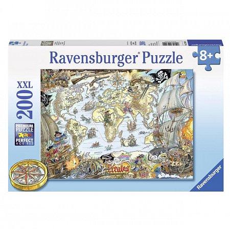 Пазл Ravensburger Пиратская карта, 200 элементов (RSV-128020)