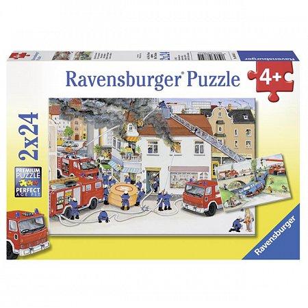 Пазл Ravensburger Пожарные, 24 элементов (RSV-088515)