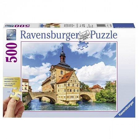 Пазл Ravensburger Ратуша в Бамберге, 500 элементов (RSV-136513)