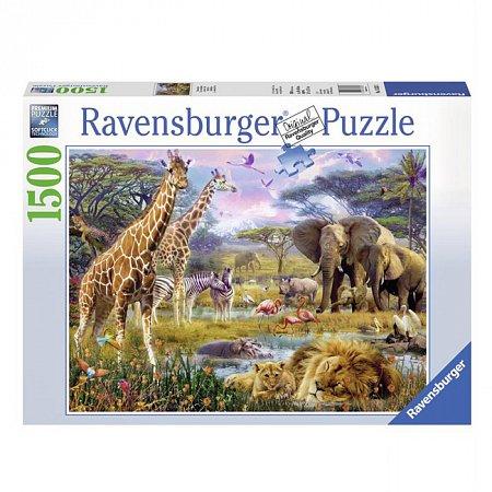Пазл Ravensburger Разноцветная Африка. 1500 элементов (RSV-163335)