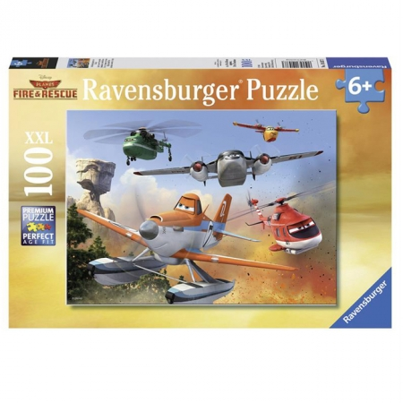 Пазл Ravensburger Самолеты - Борьба с огнем, 100 элементов (RSV-105373)