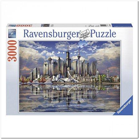Пазл Ravensburger Североамериканский горизонт, 3000 элементов (RSV-170661)