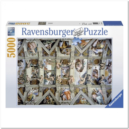 Пазл Ravensburger Сикстинская капелла, 5000 элементов (RSV-174294)