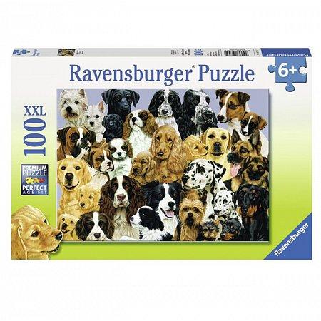 Пазл Ravensburger Собаки, 100 элементов (RSV-107452)