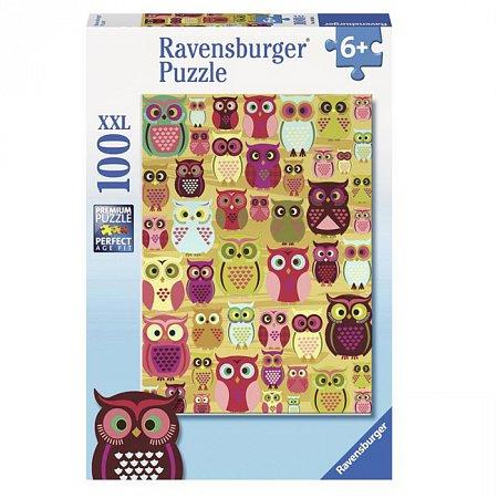 Пазл Ravensburger Совы, 100 элементов (RSV-105281)