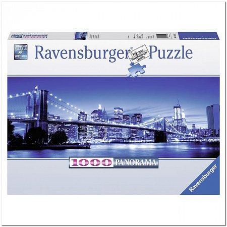 Пазл Ravensburger Сумерки в Нью-Йорке, 1000 элементов. Панорамный (RSV-150502)