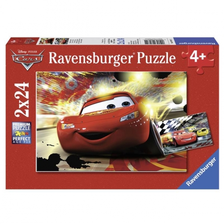 Пазл Ravensburger Тачки - МакКвин, 24 элементов (RSV-089611)