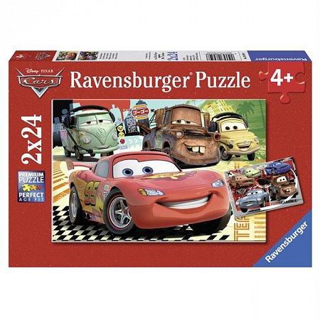 Пазл Ravensburger Тачки - Новые приключения, 24 элементов (RSV-089598)