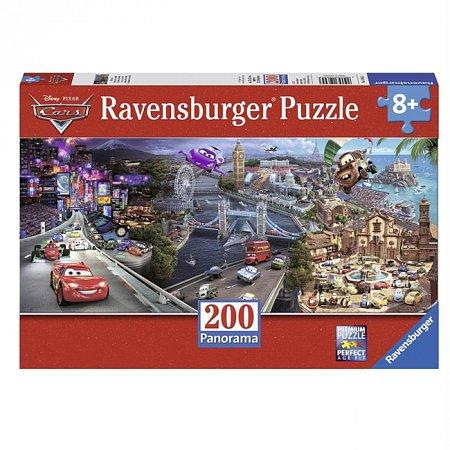 Пазл Ravensburger Тачки - Вокруг света, 200 элементов (RSV-126453)