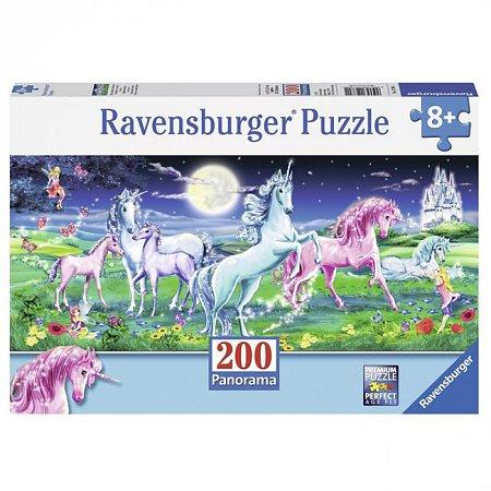 Пазл Ravensburger Удивительные единороги, 200 элементов (RSV-127801)