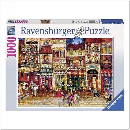 Пазл Ravensburger Улицы Франции, 1000 элементов (RSV-194087)
