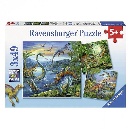 Пазл Ravensburger Увлечение динозаврами, 49 элементов (RSV-093175)