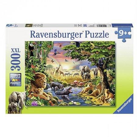 Пазл Ravensburger Вечерний водопой, 300 элементов (RSV-130733)