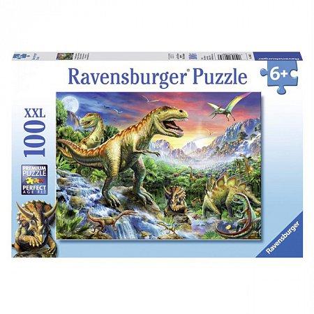 Пазл Ravensburger Время динозавров, 100 элементов (RSV-106653)