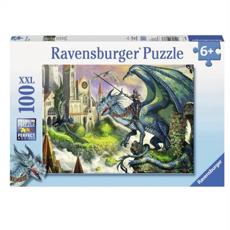 Пазл Ravensburger Всадник на драконе, 100 элементов (RSV-108763)