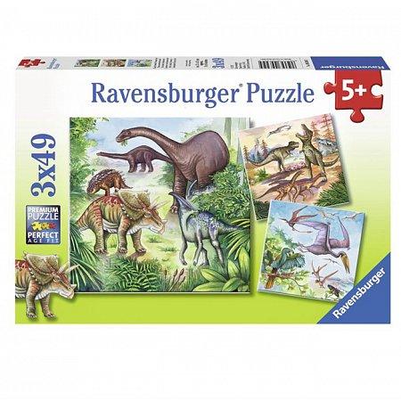 Пазл Ravensburger Захватывающие динозавры, 49 элементов (RSV-093045)