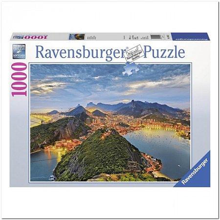 Пазл Ravensburger Залив Гуанабара, Рио-де-Жанейро, 1000 элементов (RSV-190522)