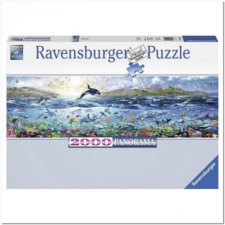 Пазл Ravensburger Живой океан, 2000 элементов. Панорамный (RSV-166961)