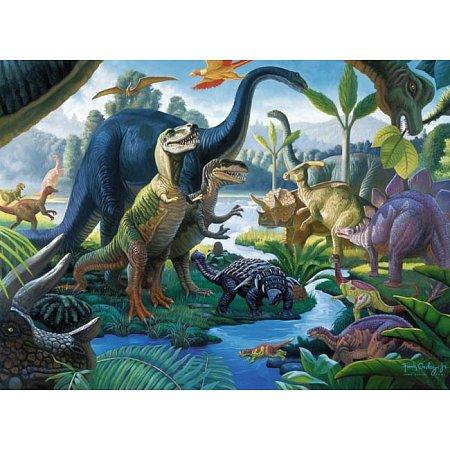 Пазл-XXL Ravensburger Динозавры 100 элементов (10740)