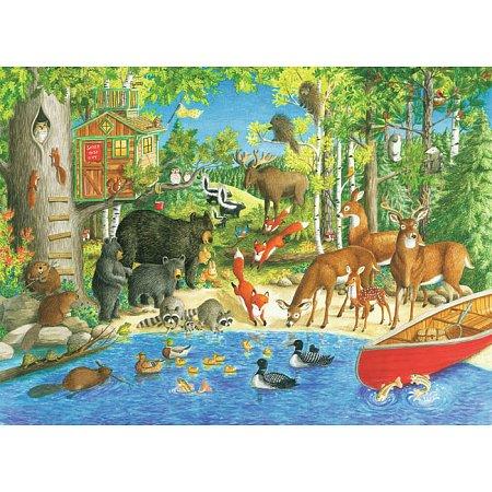 Пазл-XXL Ravensburger Лесные жители 200 элементов (12740)