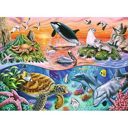 Пазл-XXL Ravensburger Прекрасный океан 100 элементов (10681)