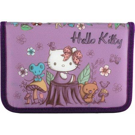 Пенал Kite без наполнения Hello Kitty, HK14-622-1K Kite