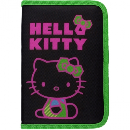 Пенал Kite без наполнения Hello Kitty, HK14-622-2K
