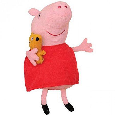 Пеппа с любимцем, мягкая игрушка 30 см. Peppa, 25097