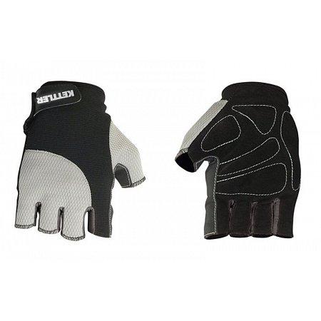 Перчатки для фитнеса KETTLER KTLR7370-080 (PL, нейлон,открытые пальцы,р-р S,черно-сер)