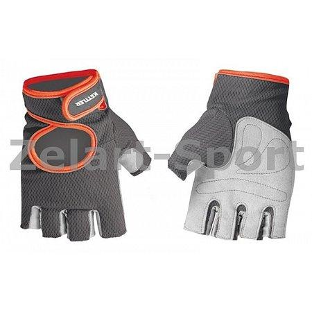 Перчатки для фитнеса KETTLER KTLR7370-093 (PL,нейлон,открытые пальцы,р-р XL,сер-оранж)