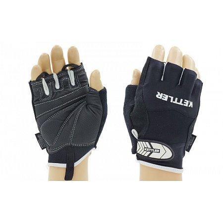 Перчатки для фитнеса KETTLER KTLR7370-096 (эластан, PL, нейлон, открыт.пальцы, р-р L,черный)