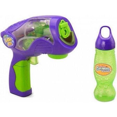 Пистолет для стрельбы Газиллионовыми пузырями Флеш Рей, звук, свет, Gazillion (36143)