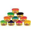 Пластилин в тубусе, набор 10 шт. Play-Doh, 22037