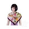 Платок женский шелковый 86*86 см ETERNO (ЭТЕРНО) ES0611-8-black