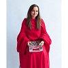 Плед с рукавами Homely Original Красный, флис, 140x180 см