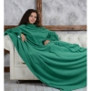 Плед с рукавами Homely Original Трава, флис, 140x180 см
