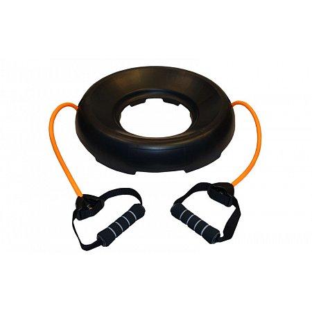 Подставка со съемными эспандерами для фитбола, BOSU PS FI-0850(T) (2эсп. d-12мм x 2,5мм, l-48см)