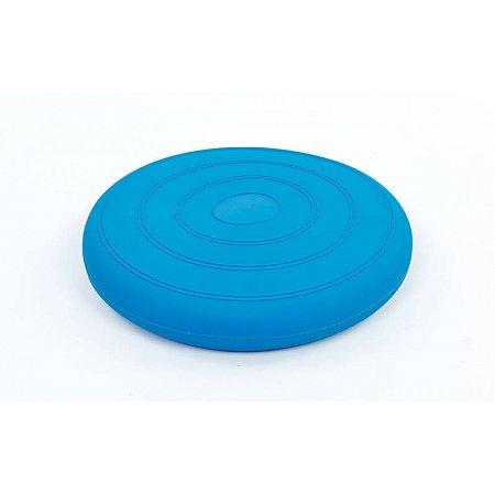Подушка балансировочная FI-5682-1 BALANCE CUSHION (PVC, d-34см, 900гр, синий)