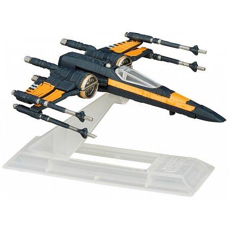 Poe's X-Wing Fighter, коллекционная модель корабля 8 см, Hasbro, B3929EU4-25