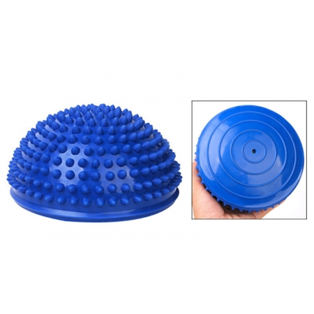 Полусфера массажная балансировочная Balance Kit FI-4939-1 (резина, d-15см, h-7,5см, 280g, синий)