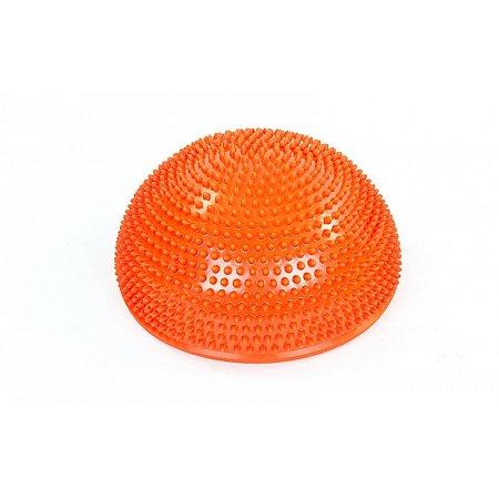 Полусфера массажная балансировочная Balance Kit FI-5681-2 (PVC, d-34см, h-7,5см, 1200g, оранжевый)