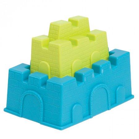 Построй замок – 2 пасочки, (цвет лаймовый и морской), набор для игры с песком и водой, Battat (BX1335Z)