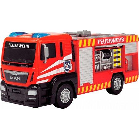 Пожарная машина MAN с открывающейся боковой панелью (17 см), Dickie Toys, 371 2008-2