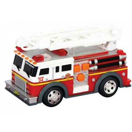 Пожарная машина с лестницей, со светом и звуком 13 см, Серии Road Rippers, Toy State, 34514