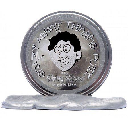Хендгам металлик Серебро - Metallic Shiny Silver, Crazy Aarons, USA, 80г
