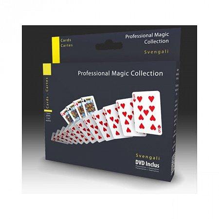 Набор для фокусов Oid Magic Карты Svengali с DVD